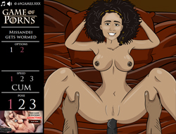 game of porns: missandei gets wormed porn games online
