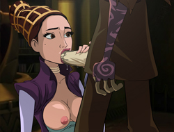 famous toons facial: star wars - the clone wars porn games online